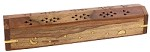 WOODEN INCENSE BURNER WITH STORAGE 12